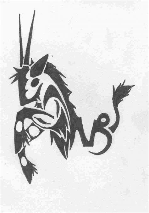 zodiac tribal tattoos capricorn tattoos designs ideas and meaning tattoos for you