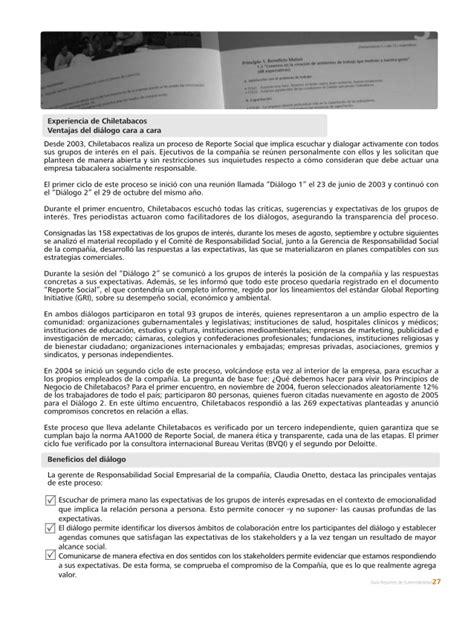 reporte sindical lectura guia para elaborar reportes de sustentabilidad