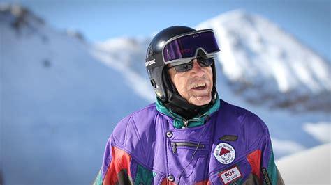 1 year skiing 98 year skier george the powder philosophy