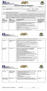 revealing major details for safe work method statement vic