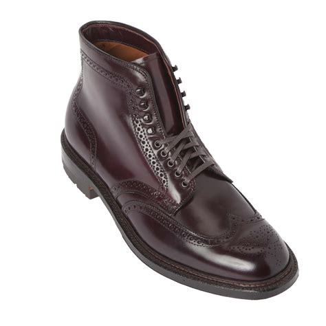shell cordovan alden shoes avenue new york