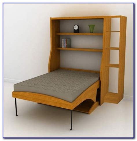 size murphy bed with desk bedroom home