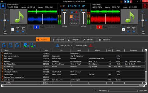 dj mixer software free download full version android dj music mixer download