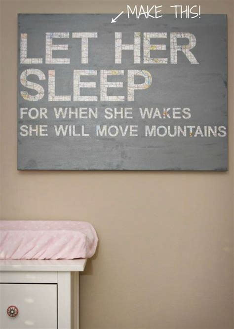 wall quotes tutorial awesome diy nursery decor tutorials and inspirations