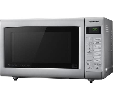 Microwave Panasonic Nn Sm209w buy panasonic nn ct565mbpq combination microwave silver free delivery currys