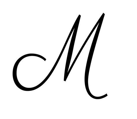 how to m cursive m dr odd