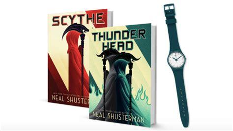 scythe arc of a scythe books win an arc of the scythe series prize pack books