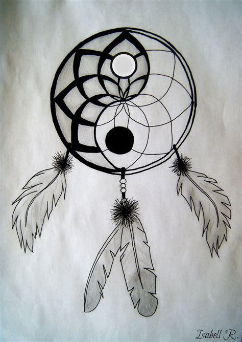 yin yang dreamcatcher tattoo yin yang dreamcatcher by sakiama on deviantart