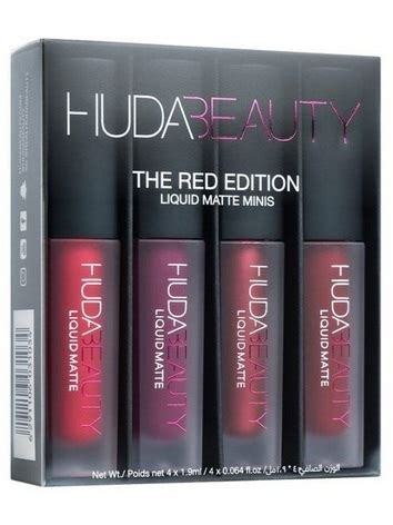 huda liquid matte minis edition beautyspot