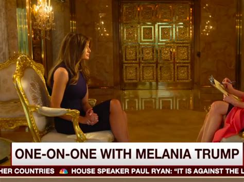 donald trumps penthouse melania defends donald during morning joe in their opulent gold penthouse