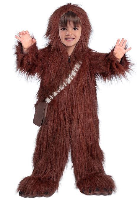 wookie costume toddler deluxe chewbacca costume