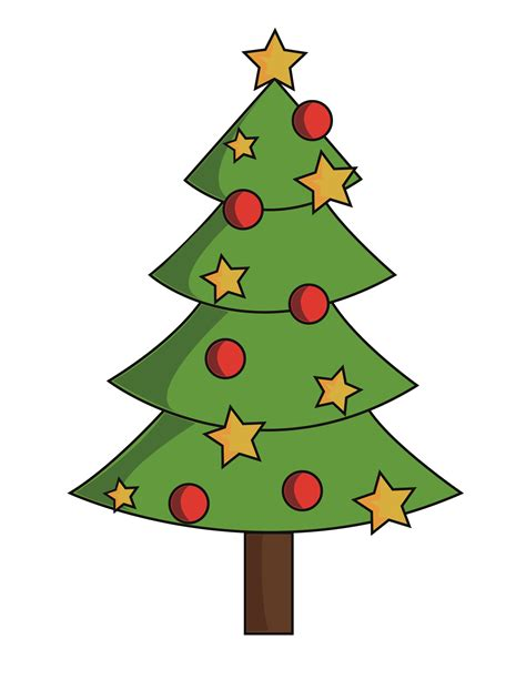 christmas tree pic pics of x mas tree clipart best