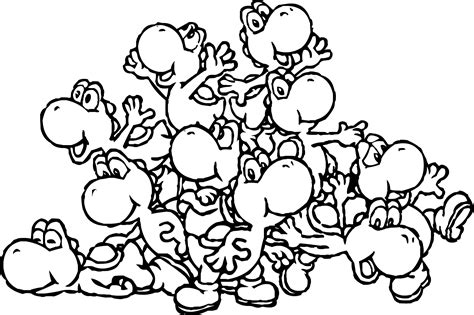coloring pages for yoshi printable yoshi coloring pages coloring me