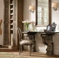 Restoration Hardware Corbels restoration hardware corbel desk furniture