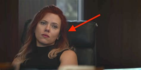 black widow hair color endgame why black widow s hair could signal a