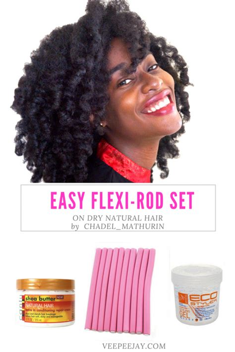 flexi rod stretch 4b c hair the secret to achieving the perfect flexi rod set on dry
