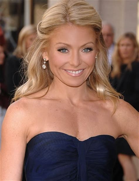 how do they curl kelly rippas hair 62 best kelly ripa images on pinterest overall dress