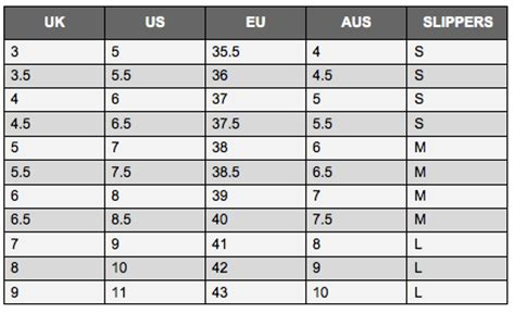 shoe size chart european to australian europe shoe size to australia