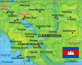 World Map Cambodia by Map Of Cambodia Map In The Atlas Of The World World Atlas
