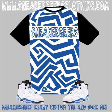 Custom Shirt 6 sneakergesks clothing sneakergeeks krazy custom to
