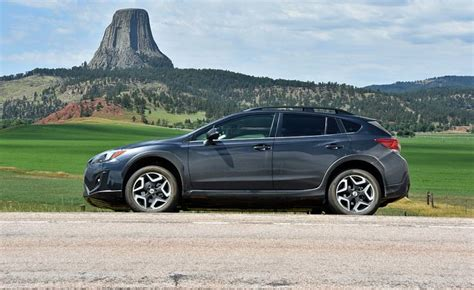 grey subaru crosstrek first drive 2018 subaru crosstrek ny daily news