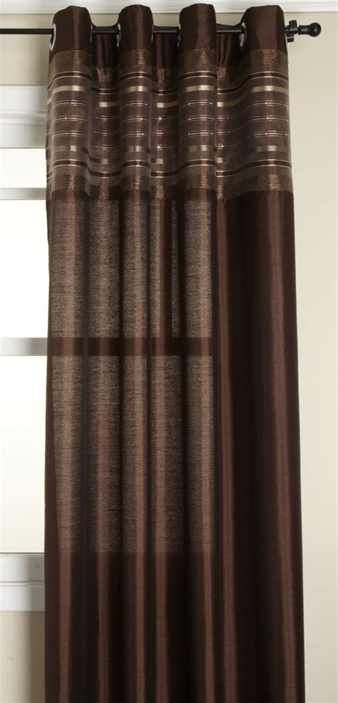 fiesta curtains fiesta faux silk grommet top curtain stylemaster sheer