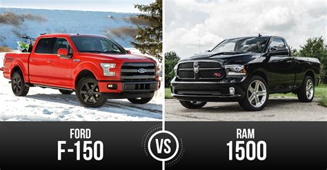 ram 1500 vs truck week battle of the big dogs ford f 150 vs ram 1500