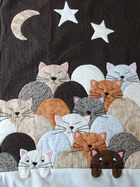 Patchwork Animal Patterns - 173 best animal pet quilts images on cats