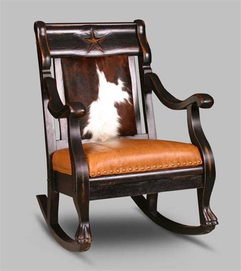 Cowhide Rocking Chair - 17 best images about animal print chairs and sofas on