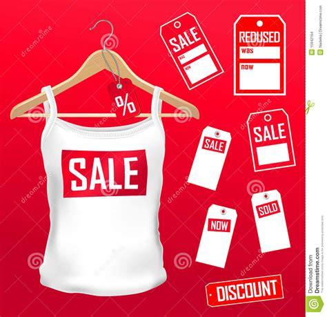 clothes labels sale set stock images image 15942164