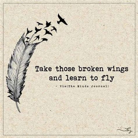 take these broken wings and learn to fly tattoo the world s catalog of ideas