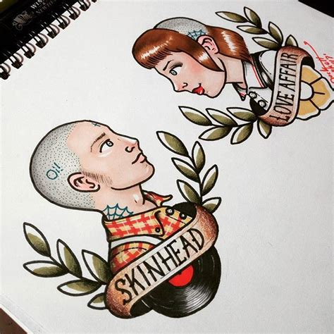 tattoo school new england the 25 best skinhead tattoos ideas on pinterest