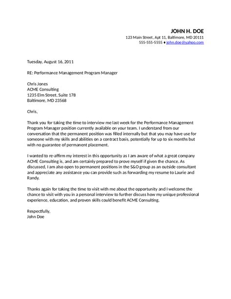 Business Opportunities Letter Writing thank you for the business opportunity letter sle