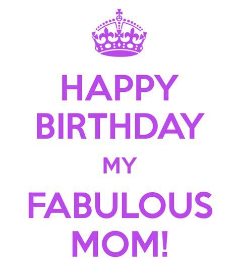 fab com mommy happy birthday my fabulous mom poster nicole keep