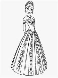 frozen coloring pages anna coloring pages images coloring frozen coloring pages