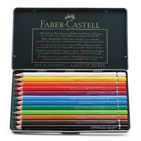 Faber Castell 12 Watercolour Pencils faber castell albrecht durer watercolor pencil set 12