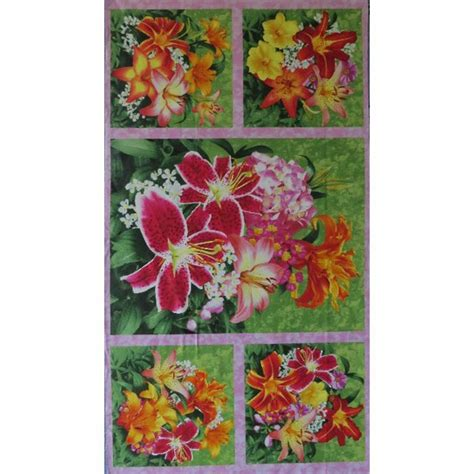 Patchwork Shops Nz - sew creative floral fascination