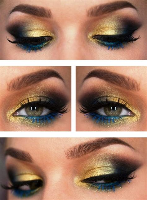 younique tutorial eyeliner peacock inspired eye shadows step by step tutorial