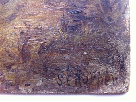 biggar painting collectivator sadie harper oil painting river scene