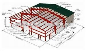 House Measurements Floor Plans warehouse layout design portal frame lingt steel structure
