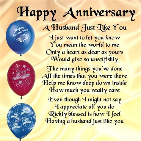 happy wedding anniversary quotes for husband personalised coaster a husband poem happy anniversary free gift box cat