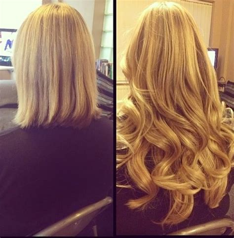 hair after 35 35 best hair extensions before and after images on