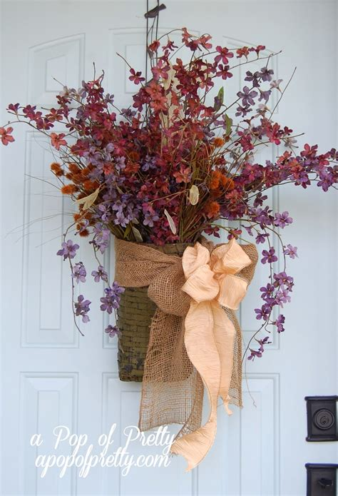 top 10 amazing diy fall door decorations top inspired