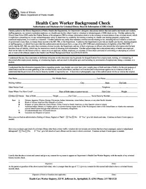care background check fillable osfhealthcare health care worker