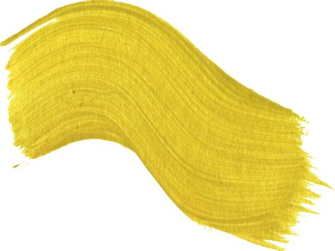 yellow paint 11 yellow paint brush strokes png transparent onlygfx com