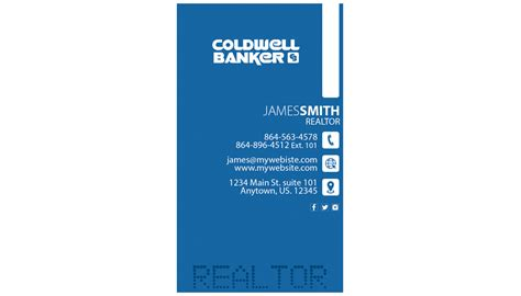 coldwell banker business card template coldwell banker business cards 25 coldwell banker