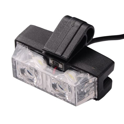 remote control strobe light 1 kit led car wireless strobe warning light strobe lights