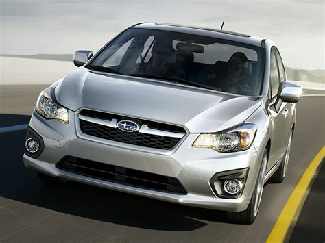 subaru coupe 2014 2014 subaru impreza price photos reviews features