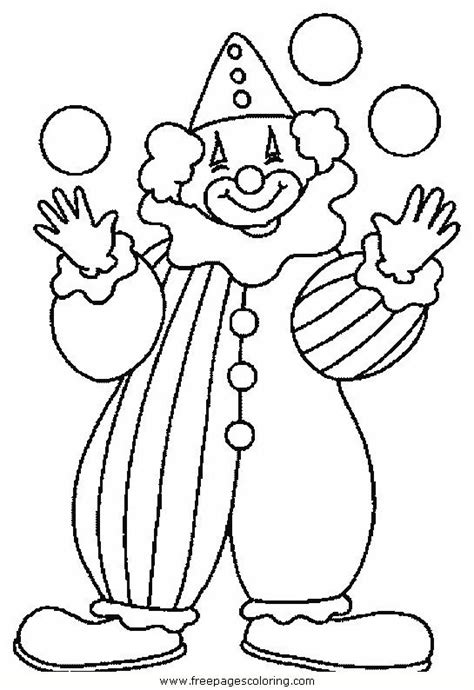 25 Best Ideas About Circus Clown On Pinterest Scary Free Clown Coloring Pages