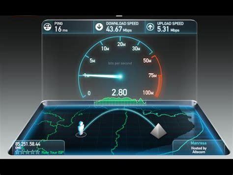 test velocita telecom come aumentare la velocit 224 di una adsl telecom o altro